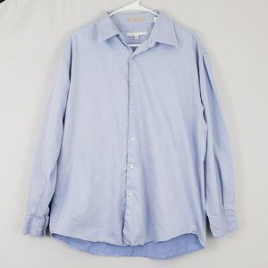 Perry Ellis Long Sleeve Button Down Shirt